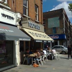 Tootsies amerikanisches restaurant chiswick london for Elite motors stamford ct