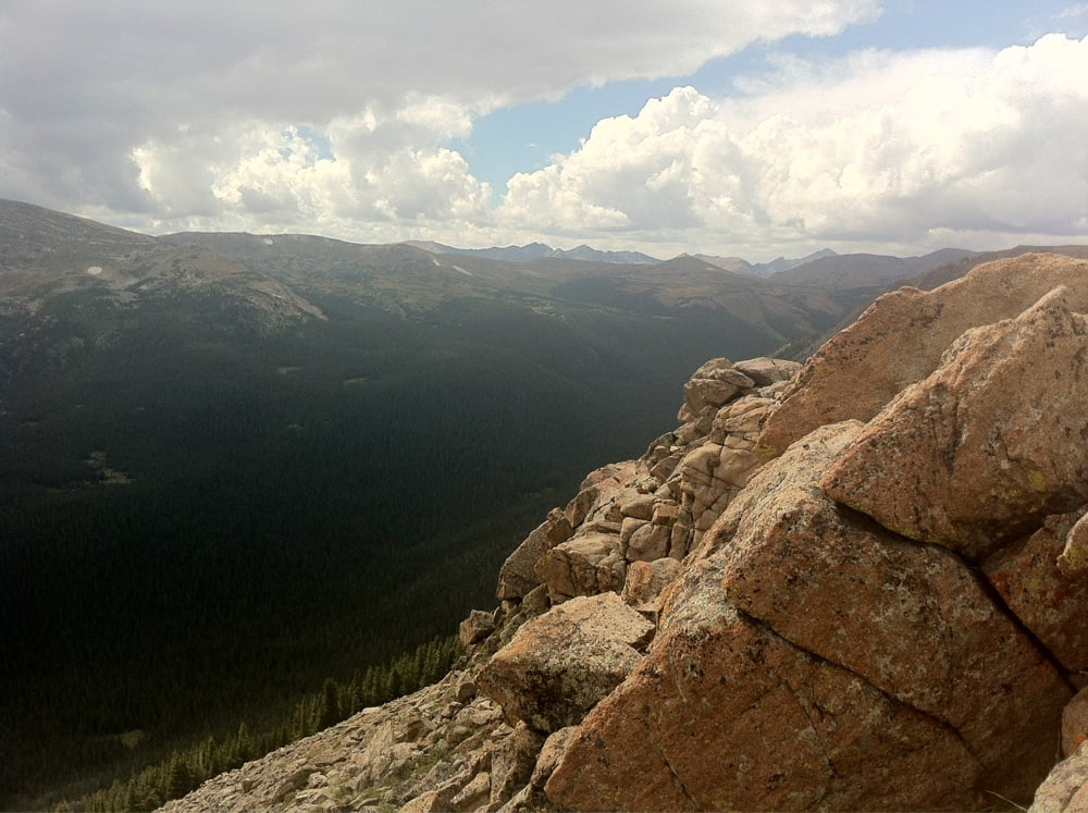 Rocky Mountain National Park - Estes Park, CO, États-Unis. You can see for miles and miles...