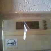 Wingstop - Nice job trying to hide actual temperature - Irving, TX, Vereinigte Staaten
