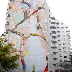 Wandbild Wir alle - eine Welt?, Hamburg