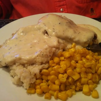 City Diner - Country Fried Steak with Mashed Potatoes & Corn - Saint ...
