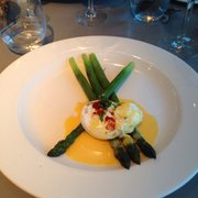 Asparagus & poached egg
