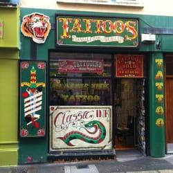 Classic ink temple bar temple bar co dublin yelp for Best tattoo shop dublin