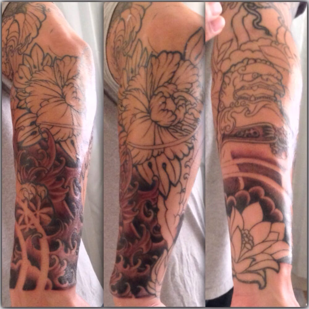 Hell or high water tattoo tattoo lower garden district for Hell or high water tattoo