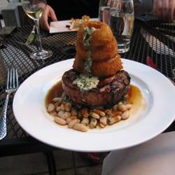 Metrovino - pork and beans (plus onion rings) - Portland, OR, Vereinigte Staaten