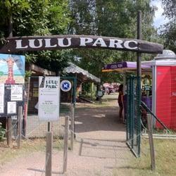 Lulu Parc - Rochecorbon, Indre-et-Loire, France. Entrée du parc.