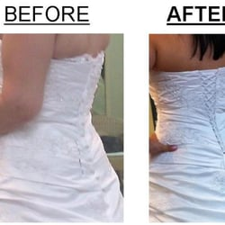 how to alter wedding dress