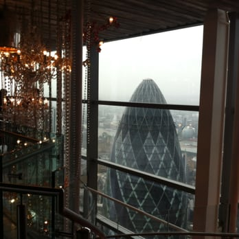 looking *down* on the gherkin :)