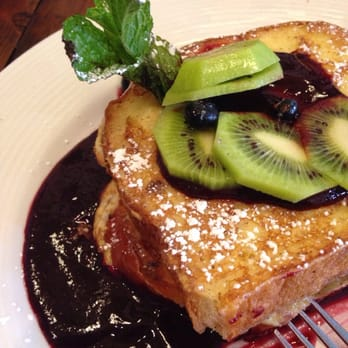 Bryn Mawr Breakfast Club - Blackberry French toast - Chicago, IL, Vereinigte Staaten