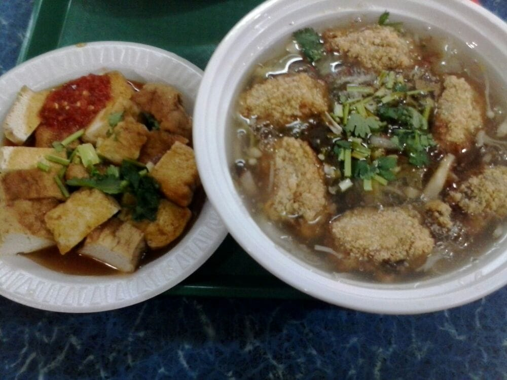 Stinky Tofu Flushing Flushing Mall Braised Tofu