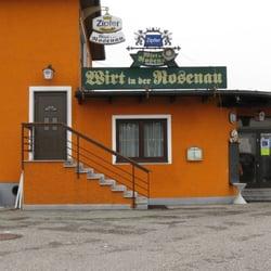Wirt in der Rosenau, Seewalchen am Attersee, Oberösterreich, Austria
