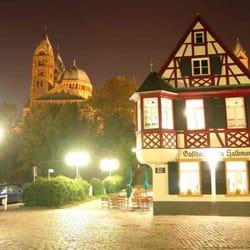 Gasthaus zum Halbmond, Speyer, Rheinland-Pfalz, Germany