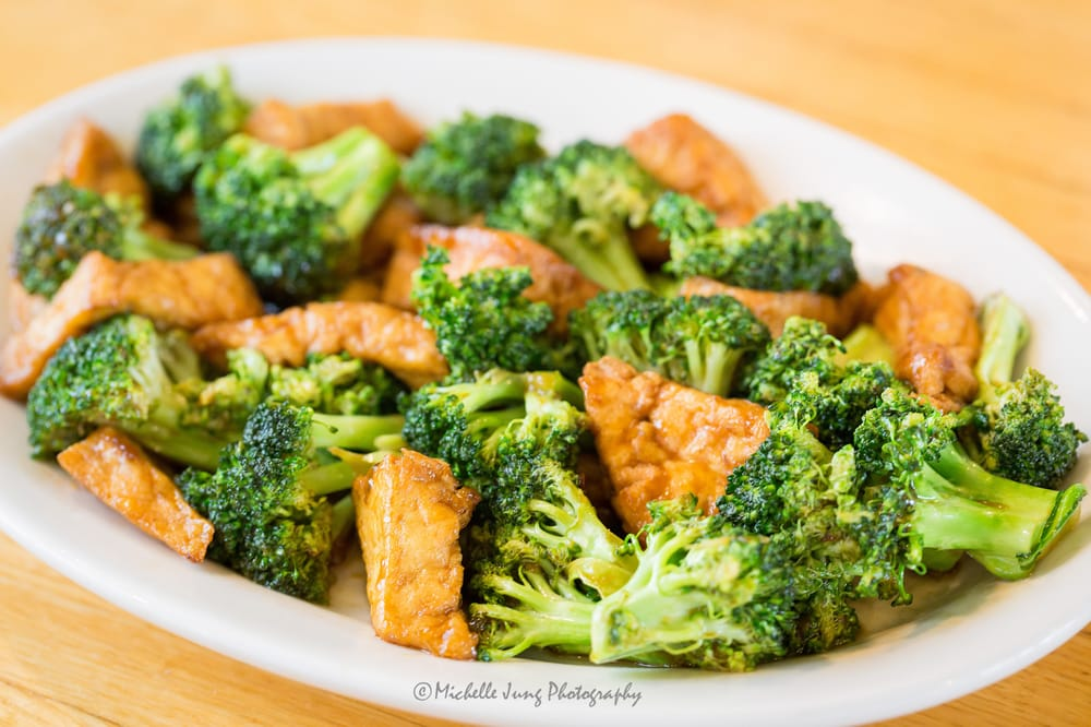 broccoli and tofu vegetarian kung pao with i actually made this recipe ...