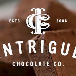Intrigue Chocolate Co. logo