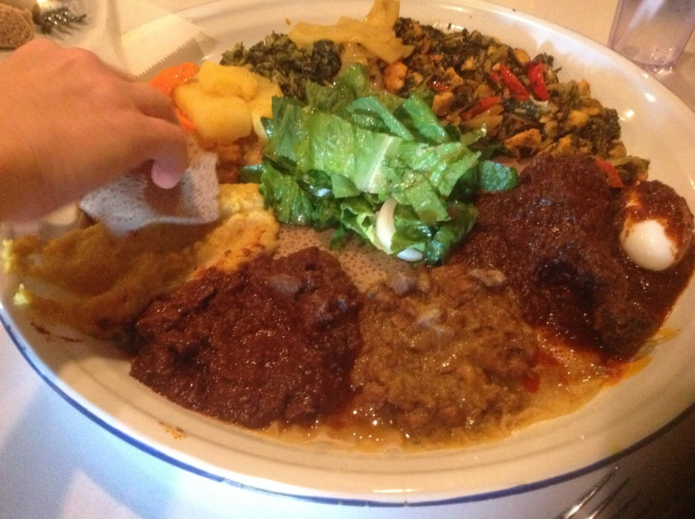 A traditional ethiopian dish yelp for Authentic ethiopian cuisine