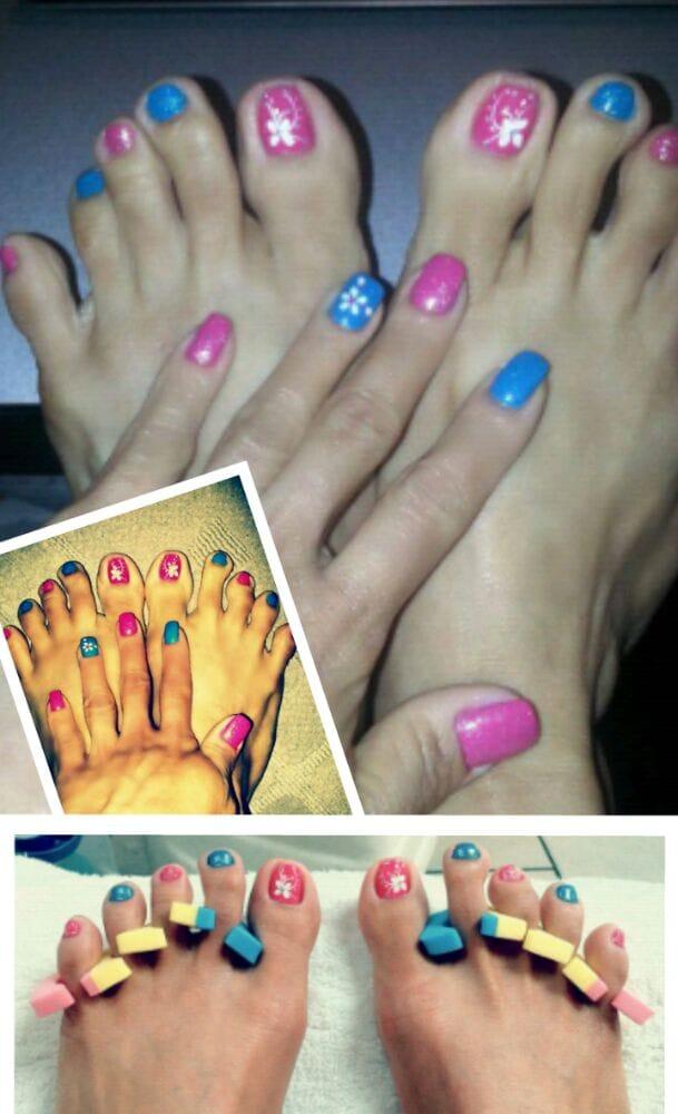 Bee bee nails spa 19 photos nail salons mira mesa for 3d nail salon midvale utah