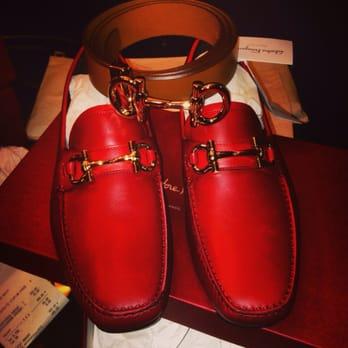 Ferragamo Belt And Shoes
