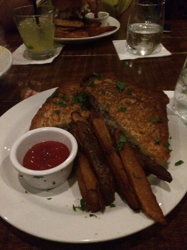 Philly grilled cheese terribly greasy yelp for 13 american table boca raton