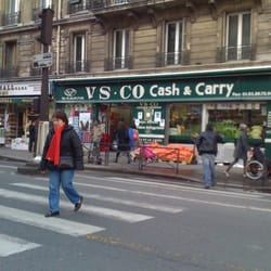 Vs co cash carry - Supermarche gare du nord ...