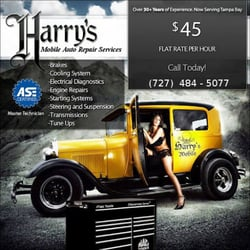 Harry s mobile auto repair services yelp for Small outboard motor repair near me