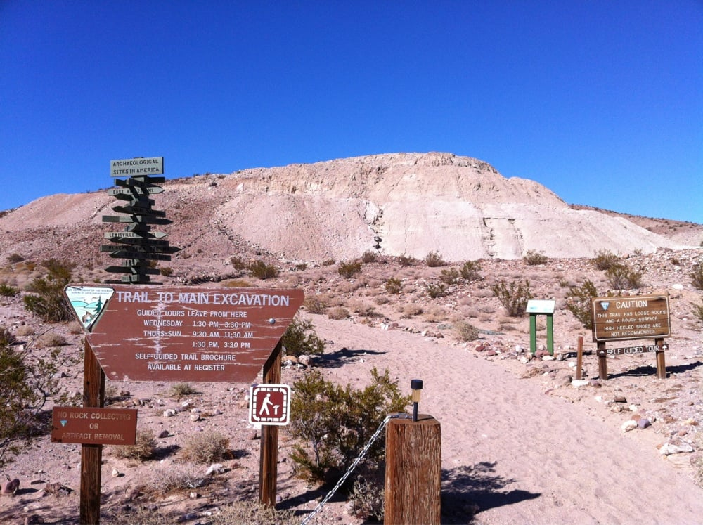 Early Man Site Yermo ca Calico Early Man Site Yermo