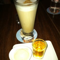 Baileys Espresso with a shot of Irish Whiskey