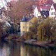 Neckarbrücke, Tübingen, Baden-Württemberg, Germany
