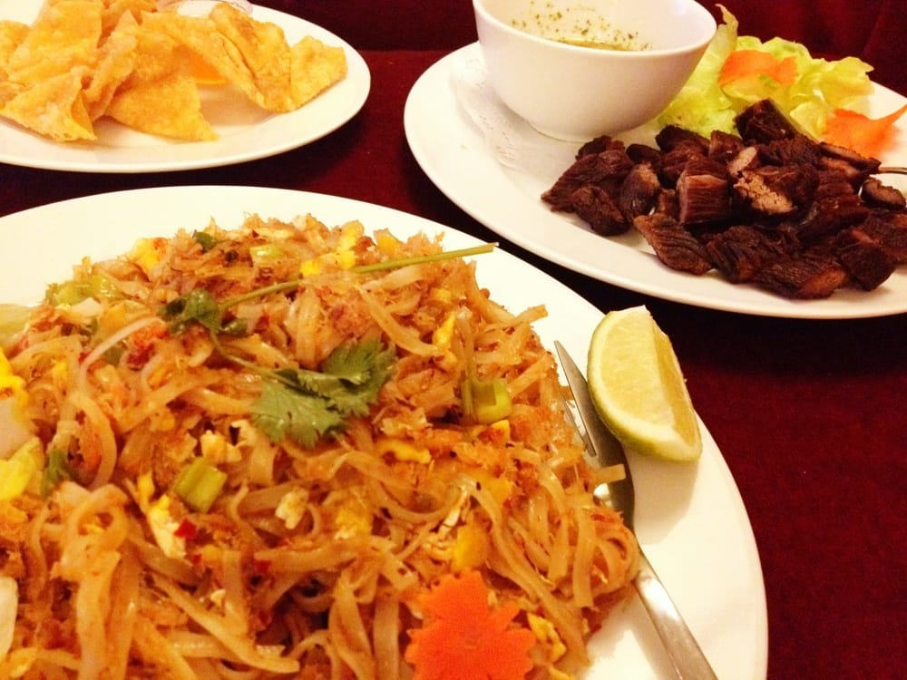 Spicy Thai Noodles With Shrimp Spicy Thai Crab Noodles
