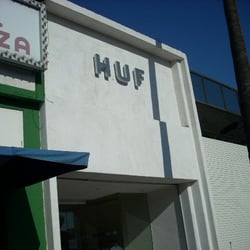 Huf clothing store Online clothing stores