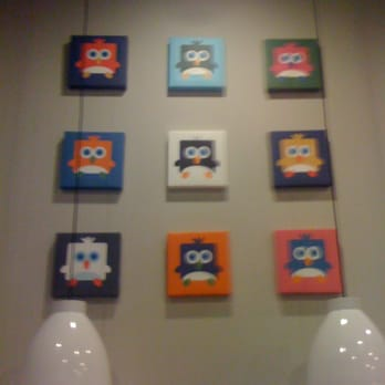 Blockheads Shavery - another pic of their wall - Los Angeles, CA, Vereinigte Staaten