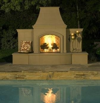 custom and concrete outdoor fireplaces many shapes and