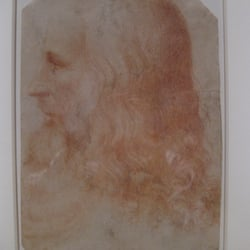 "Francesco Melzi ""A portrait of Leonardo…"