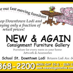 New Again Consignment Furniture Gallery Lodi Ca New Again Consignment Furniture Gallery 2 Day