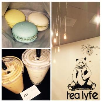 Tea Lyfe Drinks - Macarons, Thai Tea, Horchata - San Jose, CA, United ...