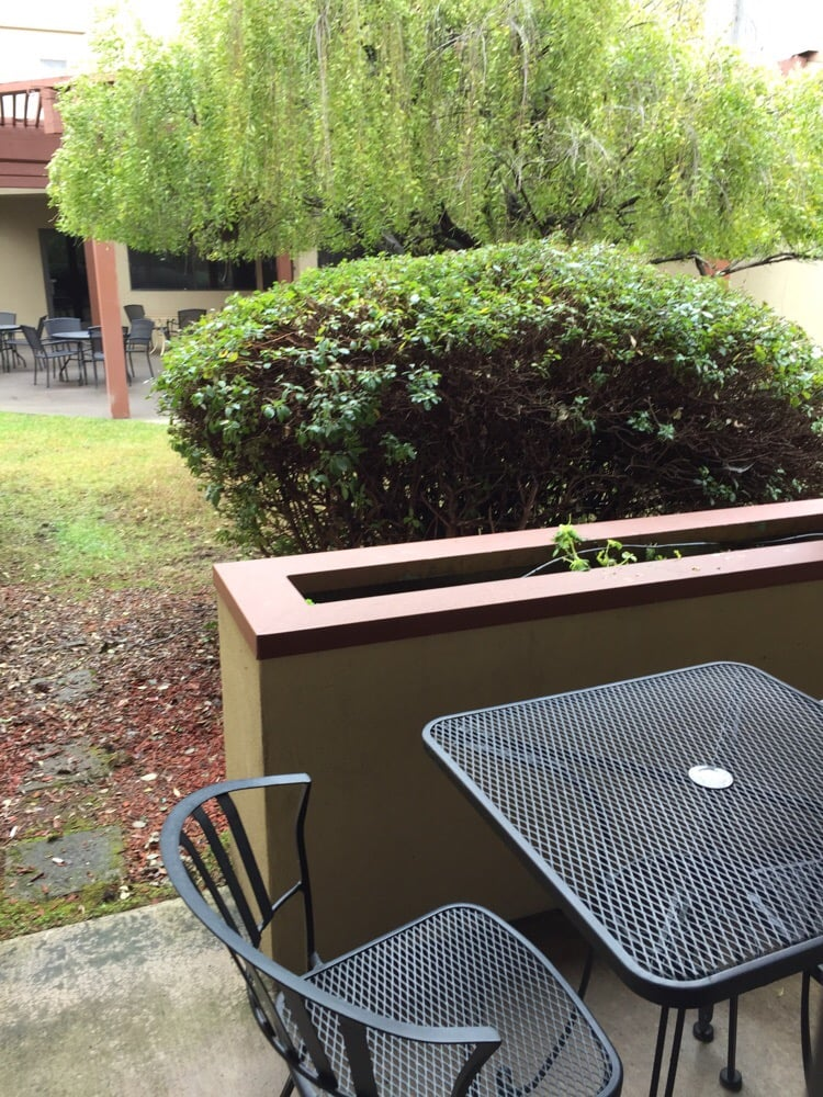 Love The Little Patio Right Outside Our Door Yelp