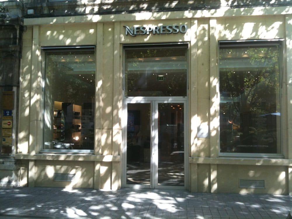 nespresso coffee tea shops presqu 39 ile lyon france. Black Bedroom Furniture Sets. Home Design Ideas