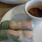 House of Pho - Sunnyvale, CA, États-Unis. Half of my spring rolls. Was hungry