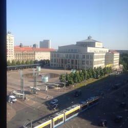 Blick auf die Leipziger Oper vom…