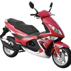 GT eXtreme sportlicher Motorroller von…