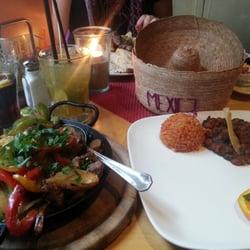 Fajitas mit Rindfleisch, Paprika und…