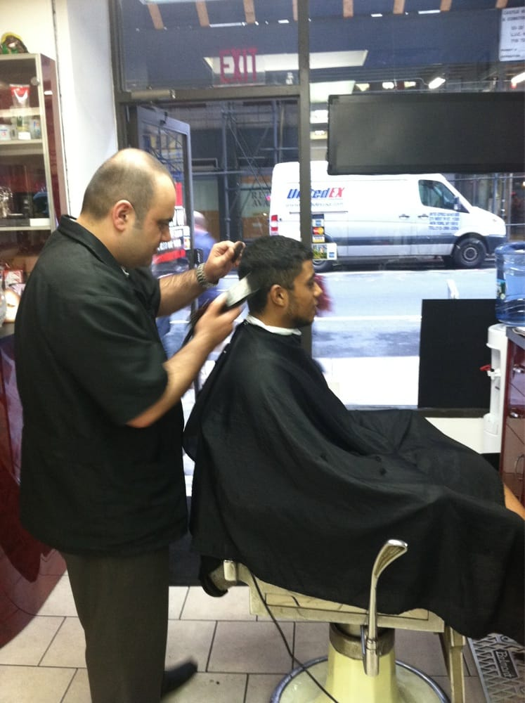 Liberty Barber Shop - Barbers - Midtown West - New York, NY - Reviews ...