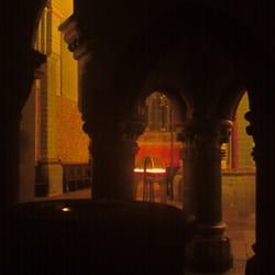 die Taufkapelle der Vorkirche (12. Jh.)