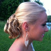 Townsend & Company Hair Salon and Spa - Updo and color done by Narmine - Albany, NY, Vereinigte Staaten