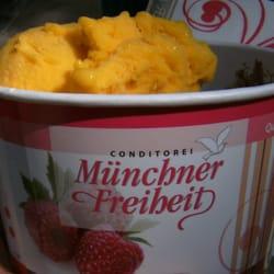 Super Mango Eis! Mit Kokosflocken - ein…