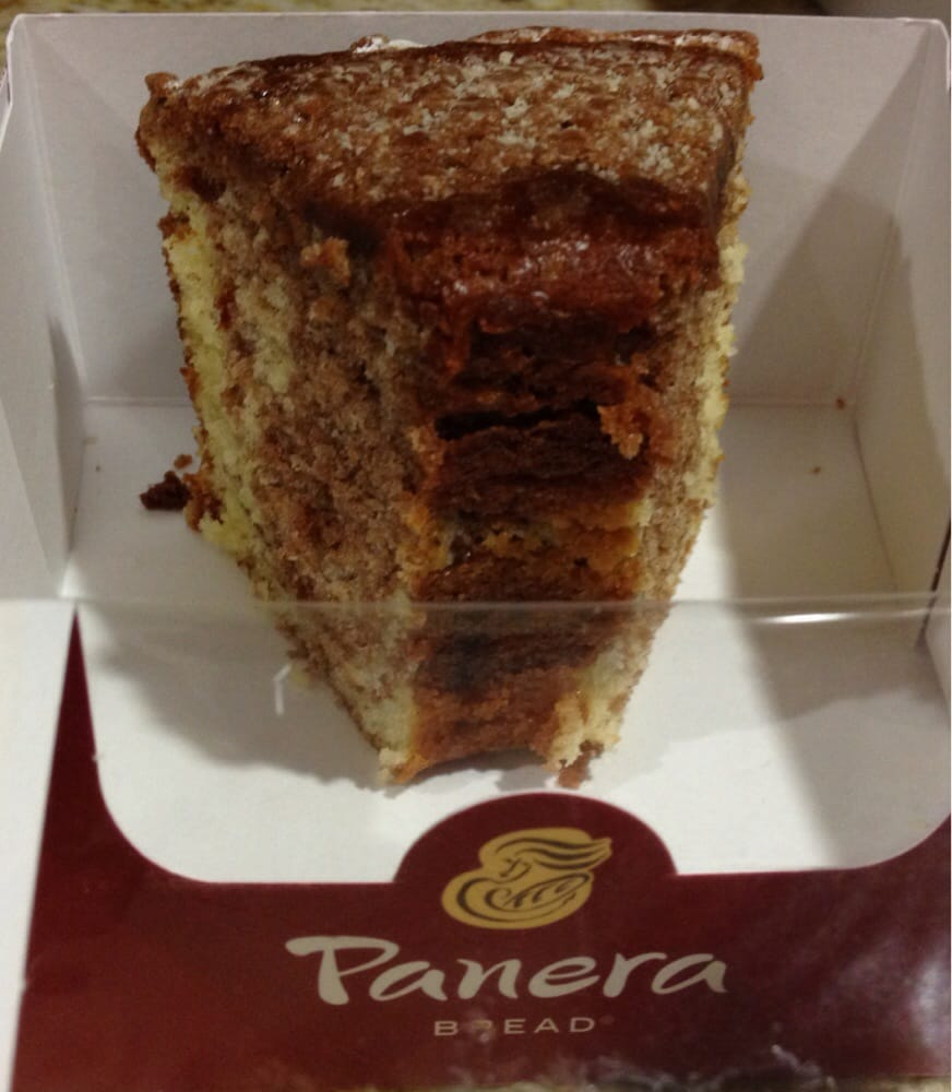 Panera Cinnamon Crumb Coffee Cake Review