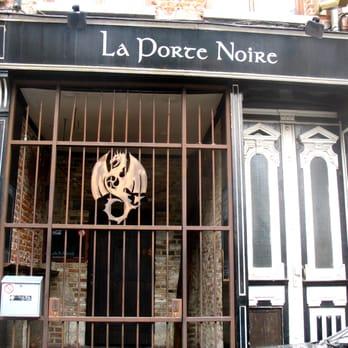 La porte noire 21 photos 31 avis bar rue des for Porte noire brussels
