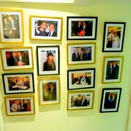 Photos of famous people who have eaten here....There are no photos of me yet.....