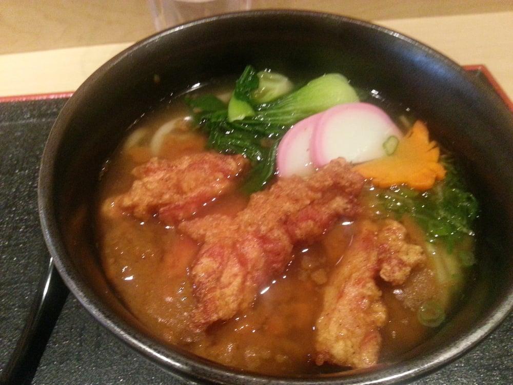 Karaage Chicken Curry Udon