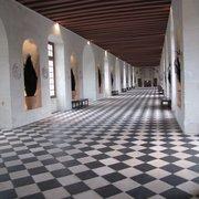 Galeria do castelo, serviu como salão de…