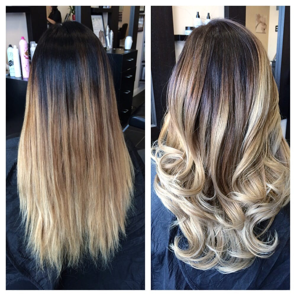 Balayage base change haircut and olaplex yelp for 2 blond salon reviews